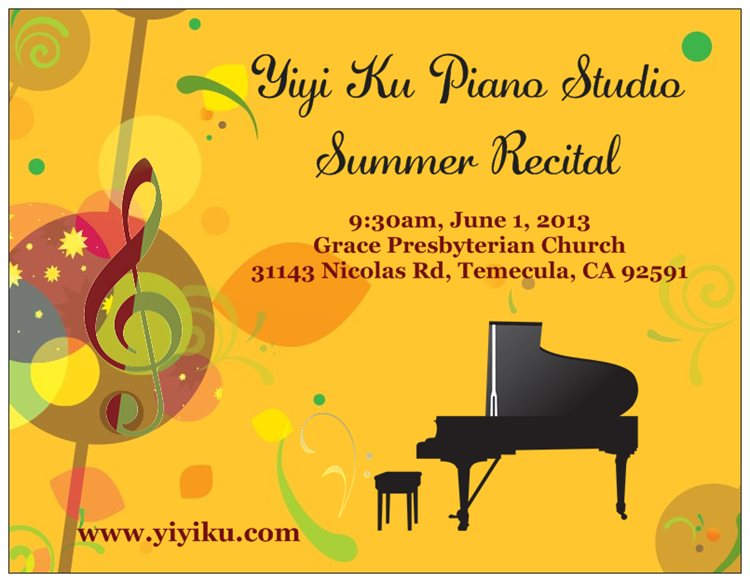 summer recital 2013